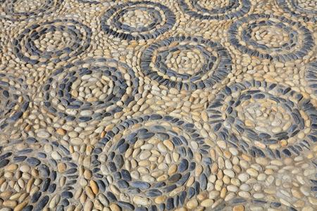 circulos concentricos: pebbles puzzle texture, concentric circles