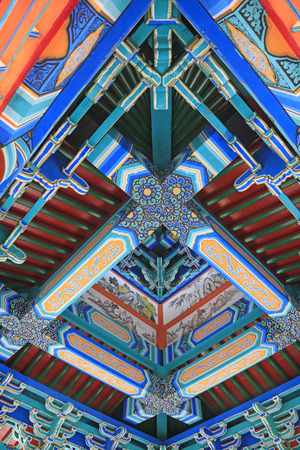 tenon: pavilion structure, Chinese traditional architecture