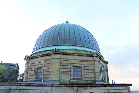 december 21: Edinburgh - December 21: Edinburgh city observatory, December 21, 2015, Edinburgh, UK.