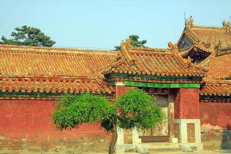 Chinese ancient architectural landscape, China Stock Photo