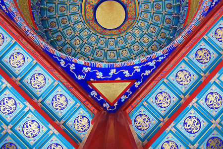 Pavilion dome, Chinese traditional landscape architecture