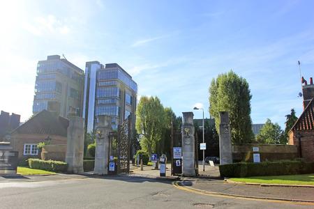 campus building: Birmingham - September 11: Birmingham university campus building, on September 11, 2016, UK