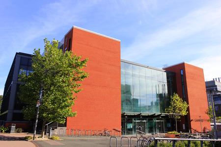 Birmingham - September 11: The learning center in the university of Birmingham, on September 11, 2016, UK