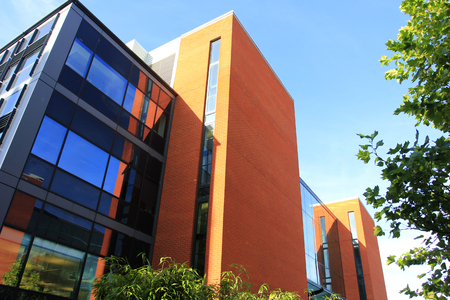 Birmingham - September 11: The School of Computer Science in the University of Birmingham, on September 11, 2016, UK