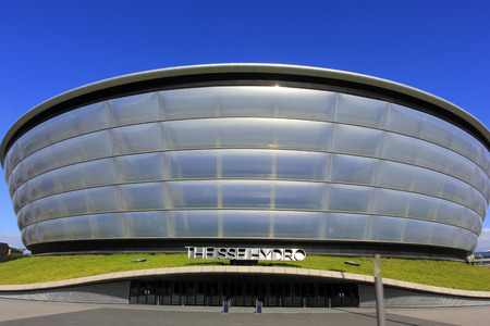 Glasgow - September 16: The SSE Hydro, on September 16, 2016, Glasgow, UK. Editorial
