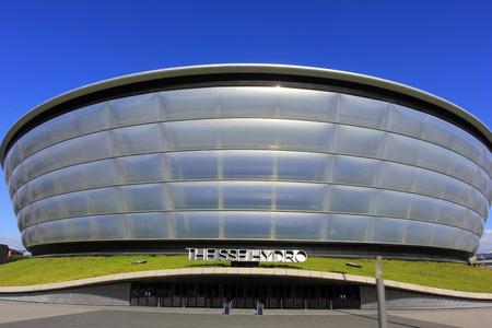Glasgow - September 16: The SSE Hydro, on September 16, 2016, Glasgow, UK. 新闻类图片