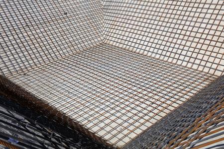sedimentation: Sedimentation tank thread steel bar mesh
