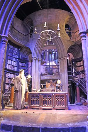director de escuela: Londres - 7 de septiembre: la producción de Harry Potter, estudios de la Warner Brothers en Londres, el 7 de septiembre, 2016, Reino Unido.