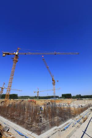 Construction site scene