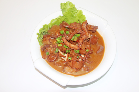 asian flavors: Chinese characteristics dishes
