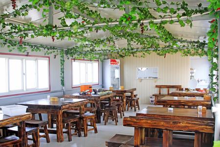 furnishings: Restaurant interior furnishings Editorial