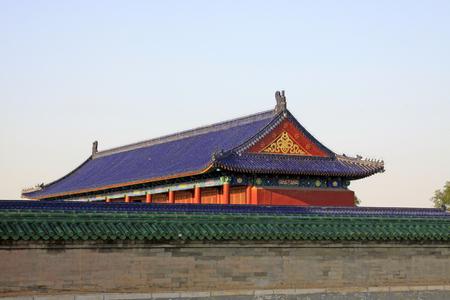 Beijing tiantan park construction