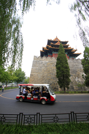 Imperial Palace watchtower, Beijing