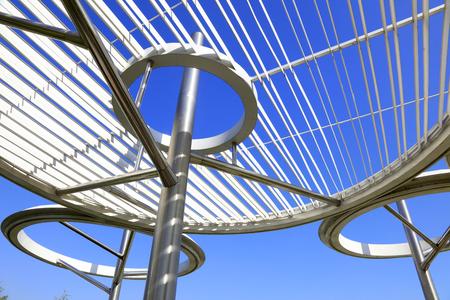 Annular steel structure
