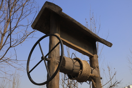 winch: Chinese ancient wells winch