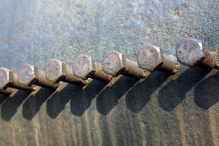 rusty: Rusty bolt Stock Photo