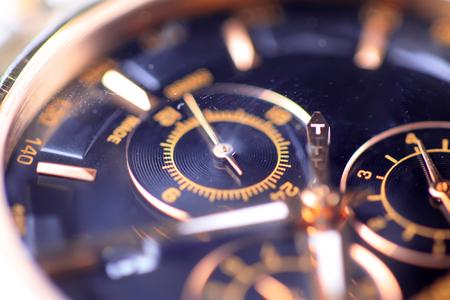watch dial plate close up Stock fotó