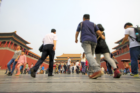 Imperial Palace gate, Beijing Editorial