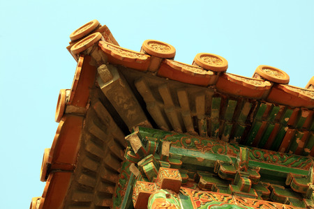Traditional Chinese architectural landscape