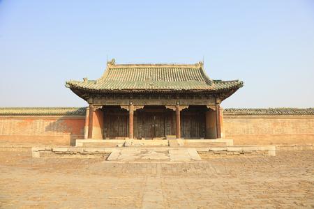 Ancient Chinese traditional architecture Фото со стока