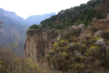 Wanxian mountain Scenic spot natural scenery, China Stock Photo
