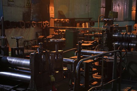 Machinery and equipment in the factory 写真素材