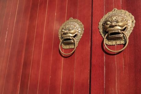 metal beast head knocker
