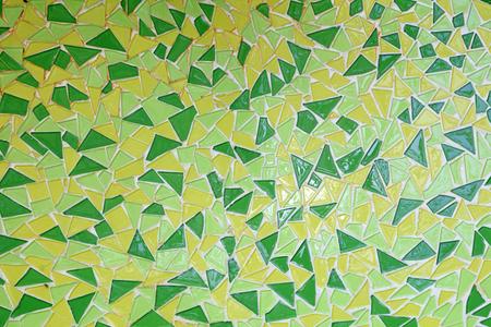 Triangular ceramic tile puzzle