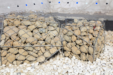 Pebbles piled together
