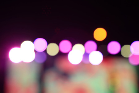Color spots on the stage   Stock Photo