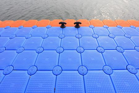 Plastic buoy deck