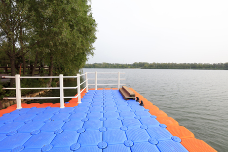 Plastic buoys and railings