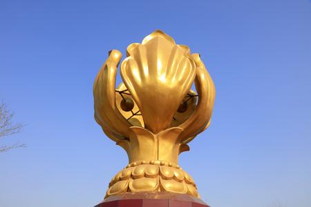 Hongkong sculpture of Bauhinia