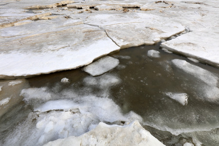 Sea ice in the natural environment Imagens