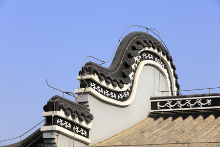 Chinese style roof decoration