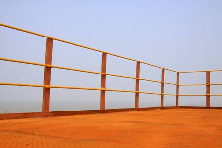 Metal railings Stock Photo