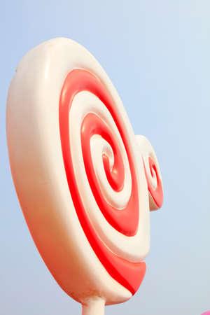 Rainbow lollipop sculpture Reklamní fotografie