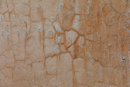 Aged mottled walls, closeup of photo
