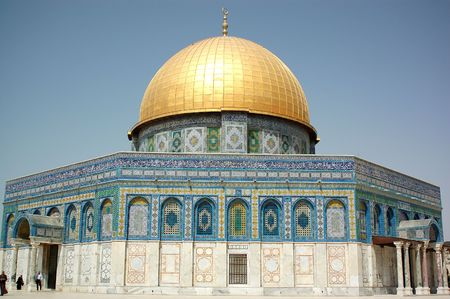 dome of the Rock in Jerusalem,Israel photo