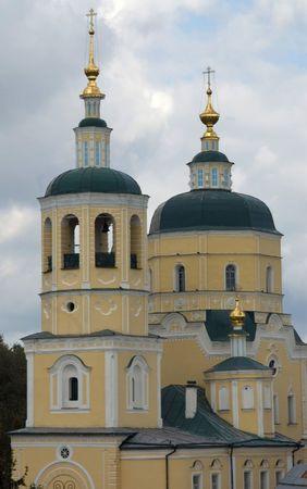 ortodox: russian ortodox church near Moscow Stock Photo