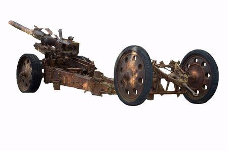 pistola: antiguo alem�n arma aisladas sobre fondo blanco