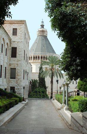 Basilica of the Annunciation,Nazareth,Israel Stock Photo - 4476464