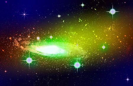 Night Sky with Stars Stock Photo - 6824364