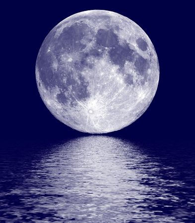Full moon Stock Photo - 7258396