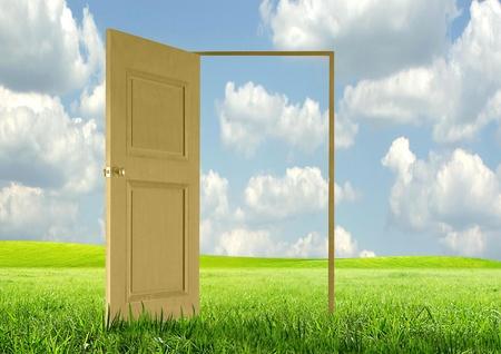paisajes: Puerta abierta