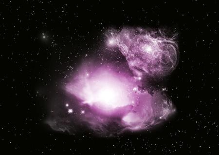 Fantasy Space Nebula  photo