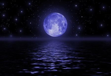 moon surface: full moon