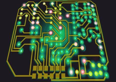 Circuit Board Stock Photo - 9186630