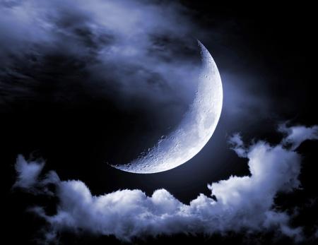 Half of moon