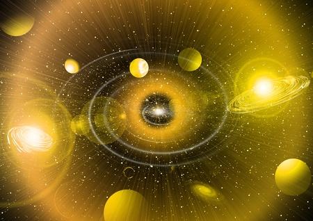 Space sky Фото со стока